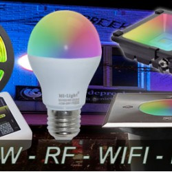 RGBW Mi-Light Led Lamp - Spot - Strip
