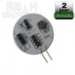 G4 Led lamp 12V 2W 2400K Dimbaar