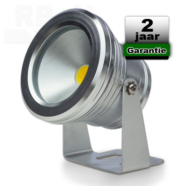 Led breedstraler 12V 10W 4500K