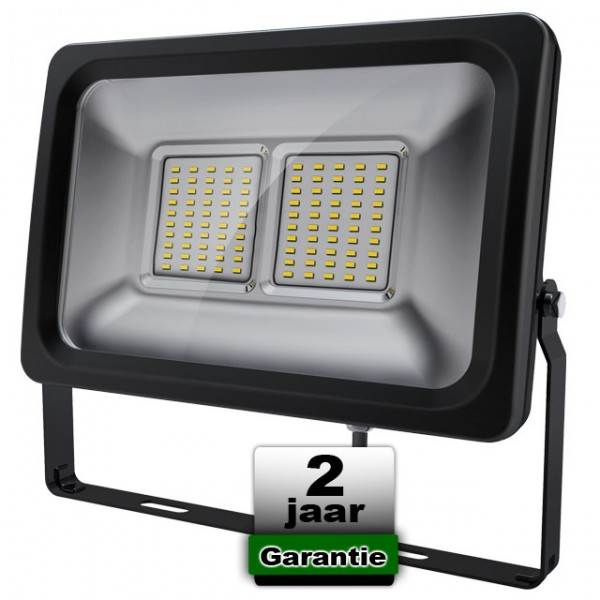 50W Led Bouwlamp 3000K 230V