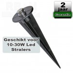 Grondspies voor LED straler / bouwlamp 10W/20W/30W