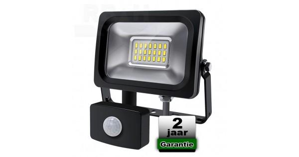 Vaak Led bouwlamp 10 watt met bewegingsmelder FY72