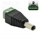 Adapter plug male 5,5mm x 2,1mm