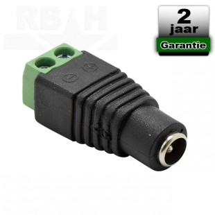Adapter plug female 5,5mm x 2,1mm