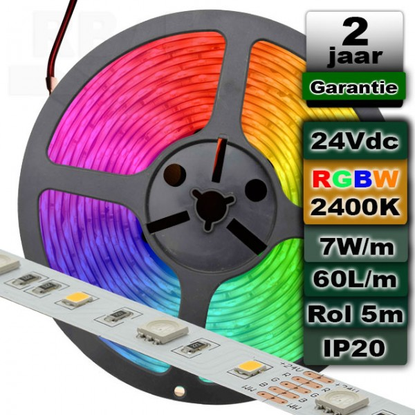 Ledstrip RGBW 2400K 24V MI-Light