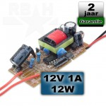LED voedingsprint 12V 1A