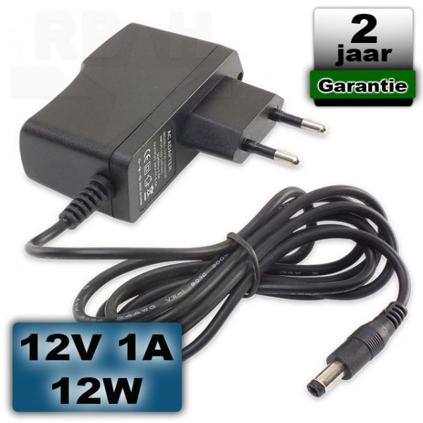 LED voeding 12V 1A 12W adapter universeel
