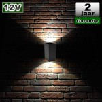 Up Down LED Buitenverlichting 6W 12V CREE