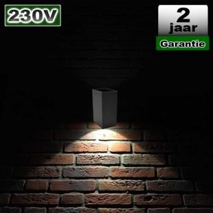 Wandverlichting Led Opbouw 3W 230V CREE