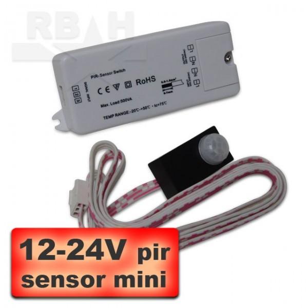 12-24V beweginsmelder sensor mini
