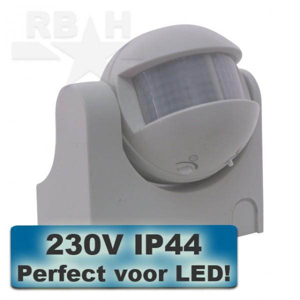 Bewegingsmelder opbouw 230V IP44