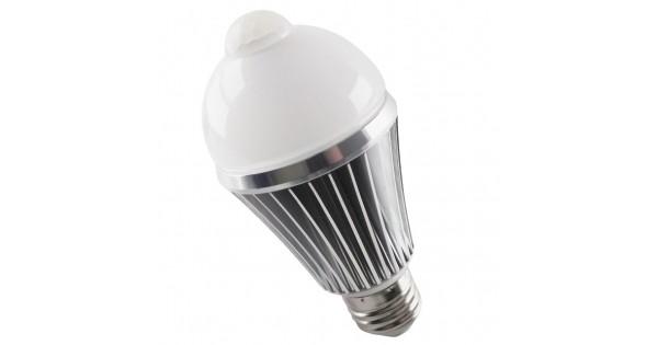 Licht En Bewegingssensor : E27 led lamp met bewegingssensor