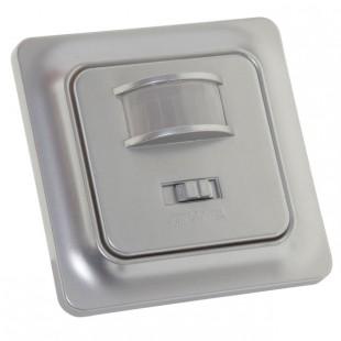 Bewegingsmelder in plaats van schakelaar zilver 230V