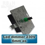LED dimmer 230V softstart 6mm as