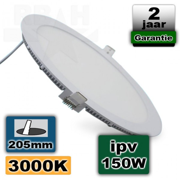 Led Panel Light 18W 230V Rond