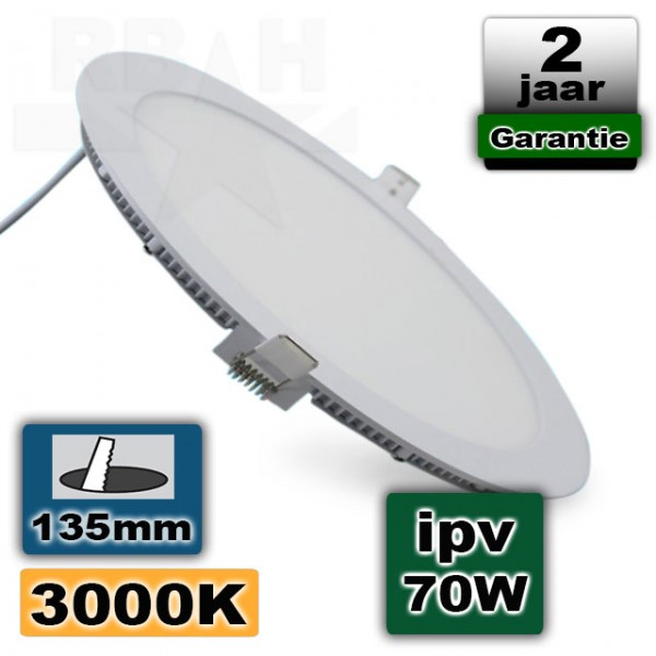 Led Panel Light 9W 230V Rond