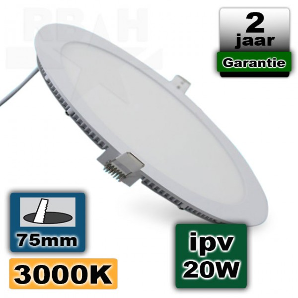 Led Panel Light 3W 230V Rond