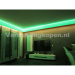 LED RGB KOOFVERLICHTING COMPLETE SET 8METER