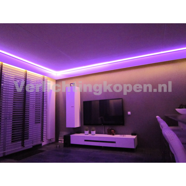Ledstrip rgbw 2400k 24v mi light spatwaterdicht for Kamerlamp plafond
