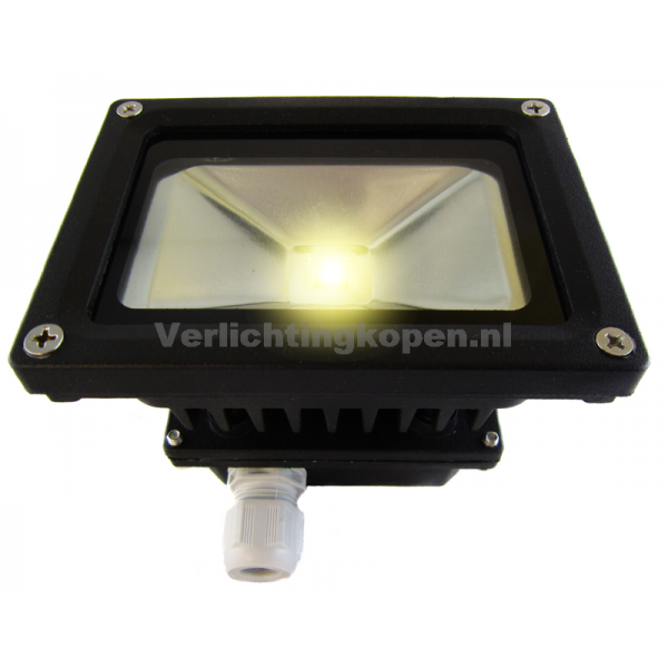 LED BOUWLAMP WARMWIT MET BEWEGINGSMELDER 230V 20W (vervangt 150W)