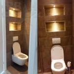 Gouden kleine inbouw Ledspot 12V 1W 2700K Rond Dimbaar