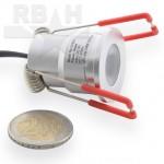 Mini inbouwspot 230V Dimbaar LED CREE 3W
