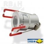 Aluminium led spot mini 12V CREE 2W Dimbaar