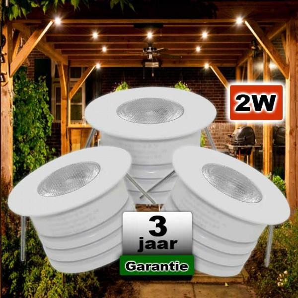 LED inbouwspot Wit Dimbaar 12V 2W 2700K