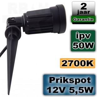 Tuinspot 12 volt LED 6W 2700K