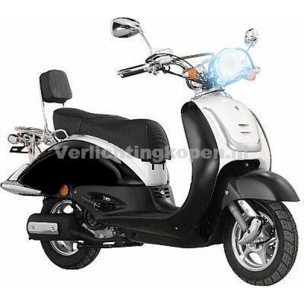 Xenon kit H4-2 scooter / brommer
