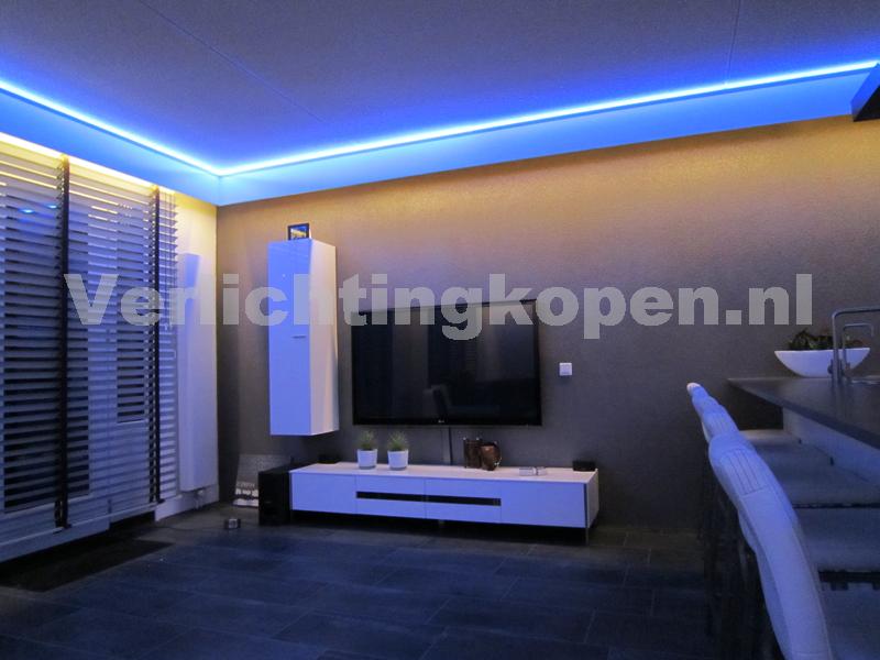 woonkamer » led verlichting woonkamer inbouw - galerij foto's van, Deco ideeën